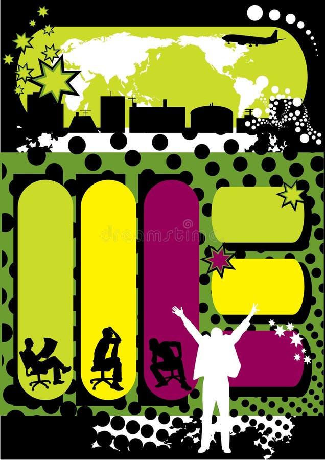 Blank banner vector illustration