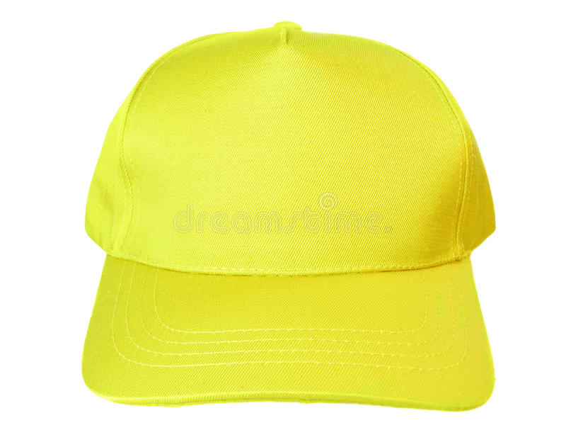 Blank Baseball Cap Stock Photo