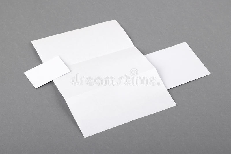 Blank basic stationery letterhead folded business card envelo download blank basic stationery letterhead folded business card envelo stock image image colourmoves Images