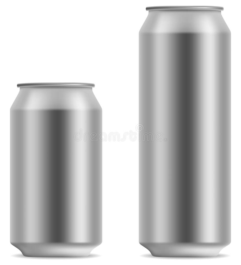 Free Blank Beer Can Royalty Free Stock Photography - 12760027