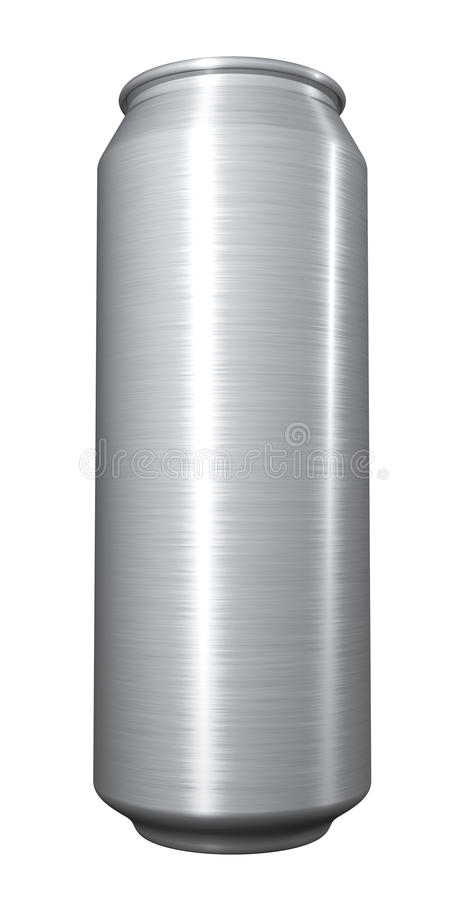 Download Blank beer can stock illustration. Image of full, object - 25632007