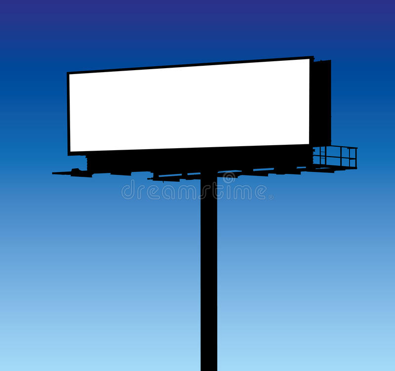 Download Blank Billboard stock photo. Image of communication, advert - 18598942