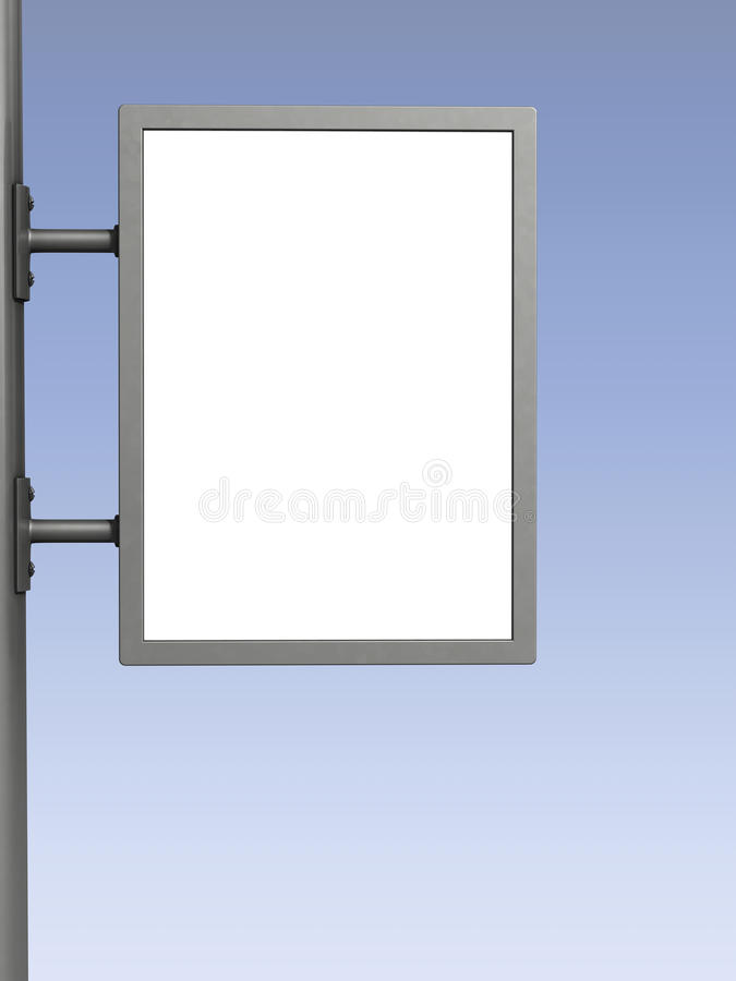 Download Blank billboard stock image. Image of advertising, message - 21297591