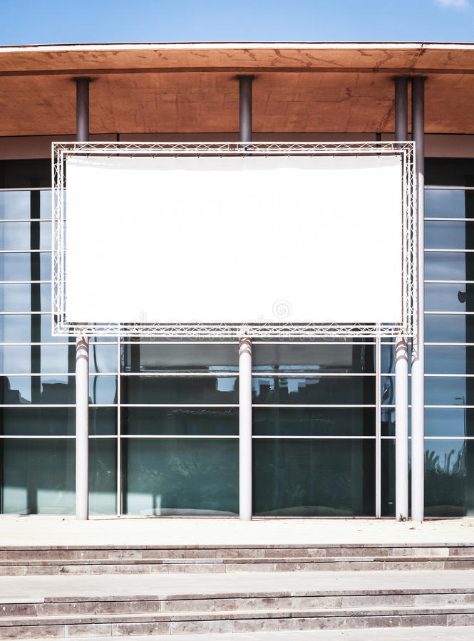 Download Blank billboard stock photo. Image of board, banner, medium - 28741650
