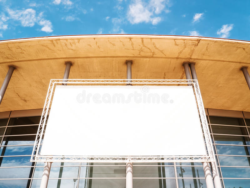 Download Blank Billboard Stock Image - Image: 29133861
