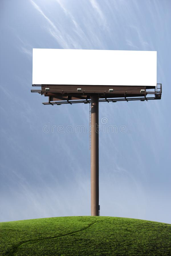 Download Blank Billboard stock image. Image of advertising, business - 7704621