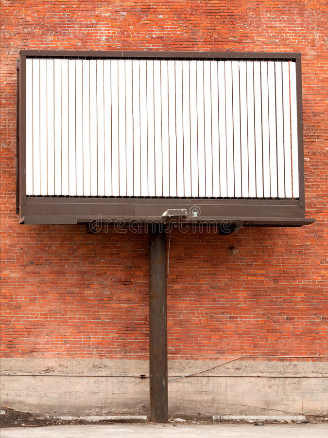 Download Blank billboard stock photo. Image of communication, billboard - 7972292