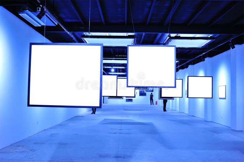 Download Blank billboard indoor stock photo. Image of city, blank - 28386120