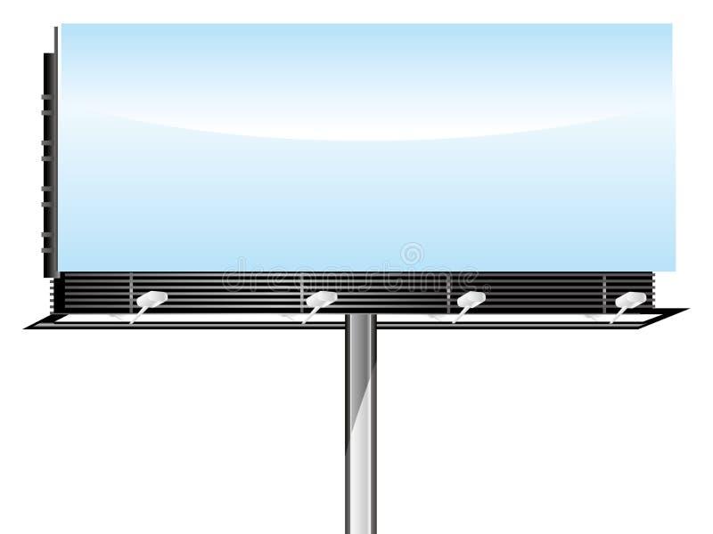 blank billboardu ilustracji