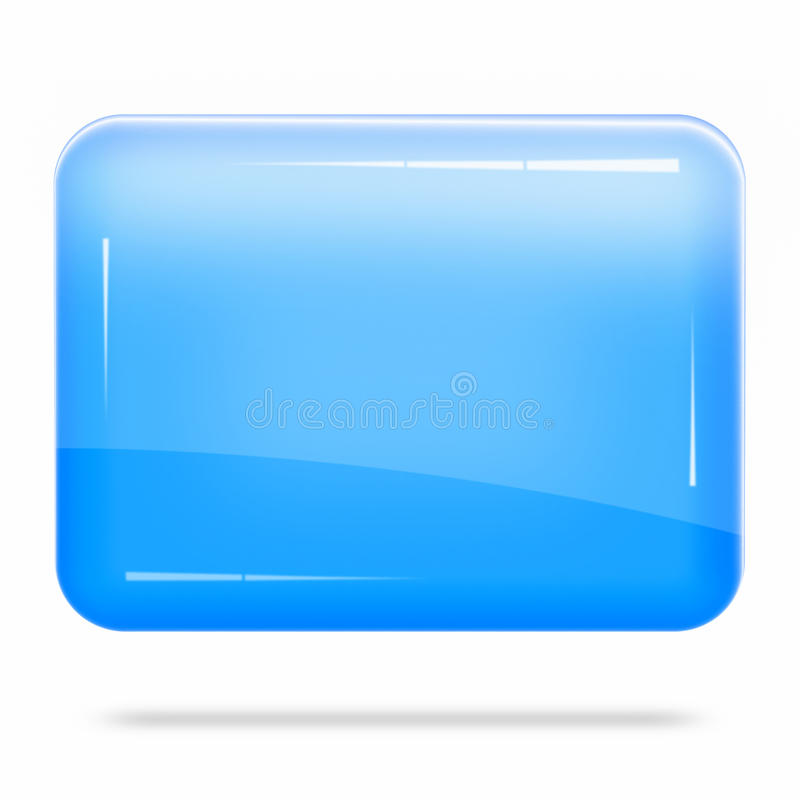 Blank Blue Board Float