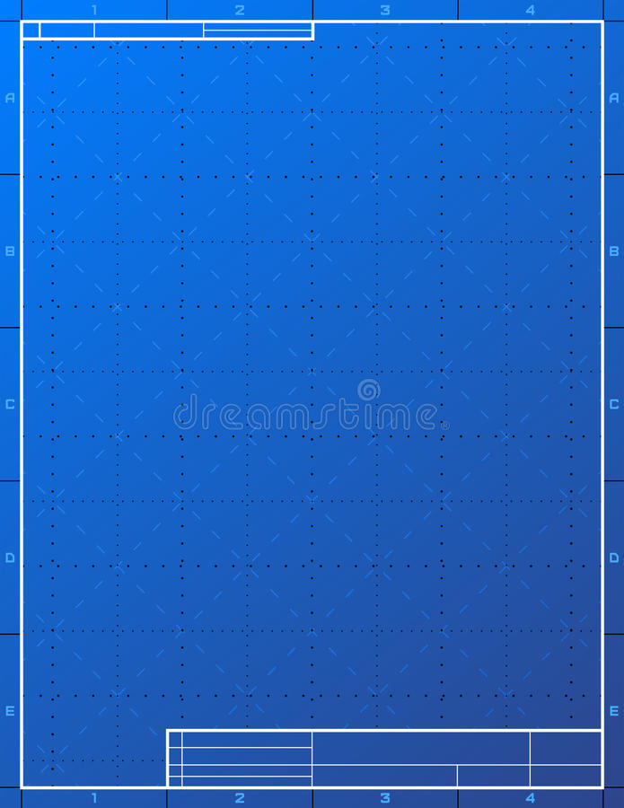 Blank blueprint paper for drafting stock vector illustration of download blank blueprint paper for drafting stock vector illustration of blank creation 35834413 malvernweather Images