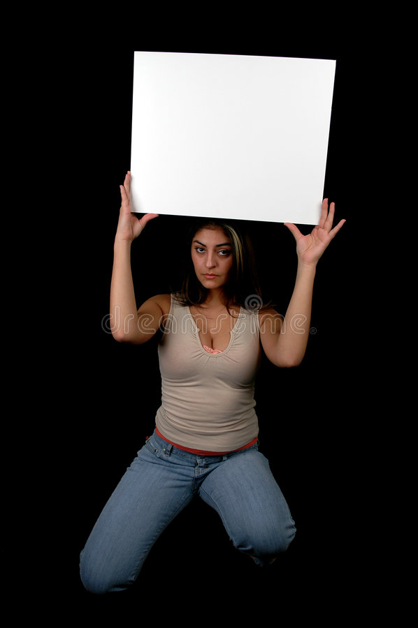 Blank board-2 royalty free stock photos