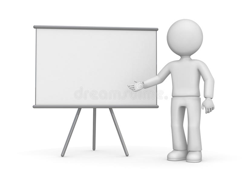 Blank board stock illustration