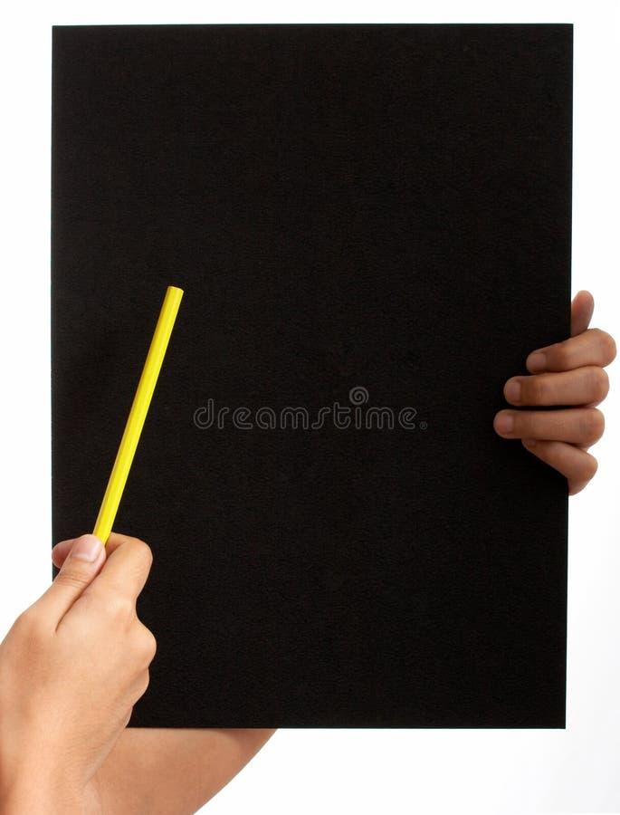 Blank board royalty free stock image