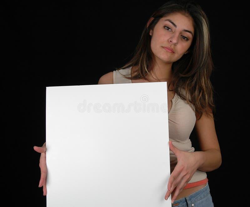 Blank Board-4 Free Stock Image