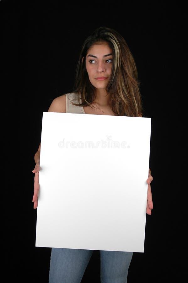 Blank Board-5 Royalty Free Stock Photo