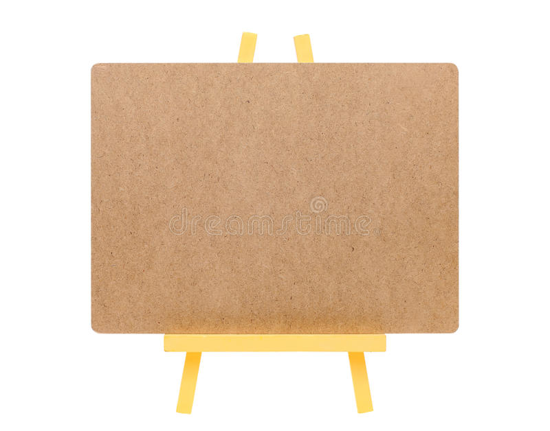Download Blank Board And Wooden Easel Stock Photo - Image: 37547404