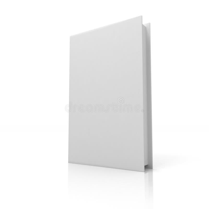 Blank bok stock illustrationer