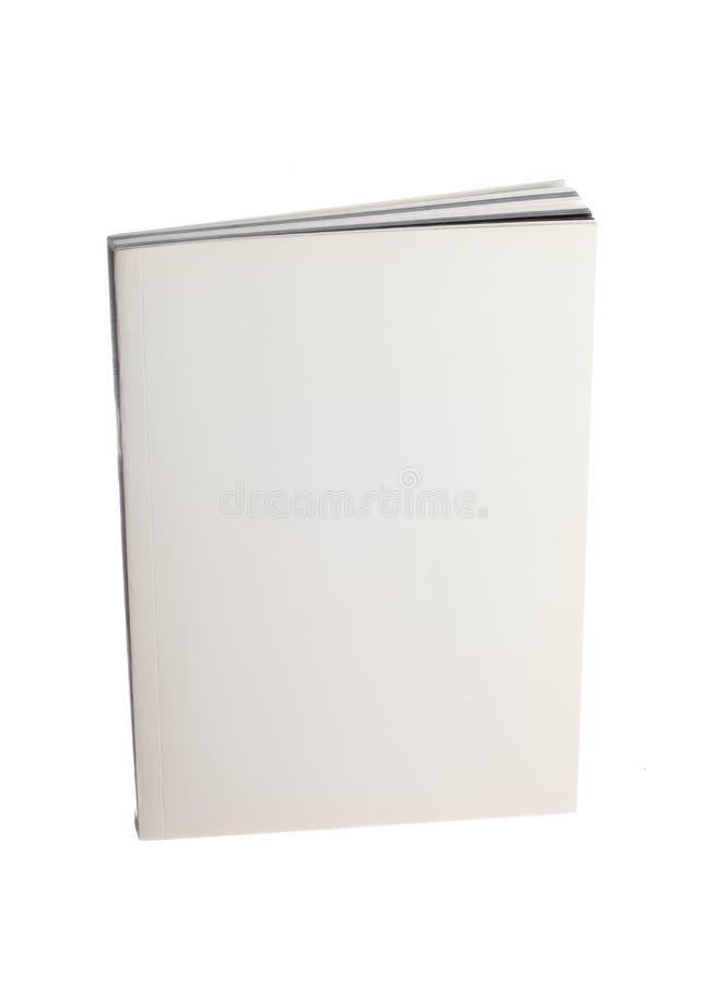 blank bok royaltyfria bilder
