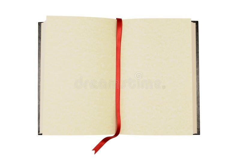 blank bokbokmärke arkivbild