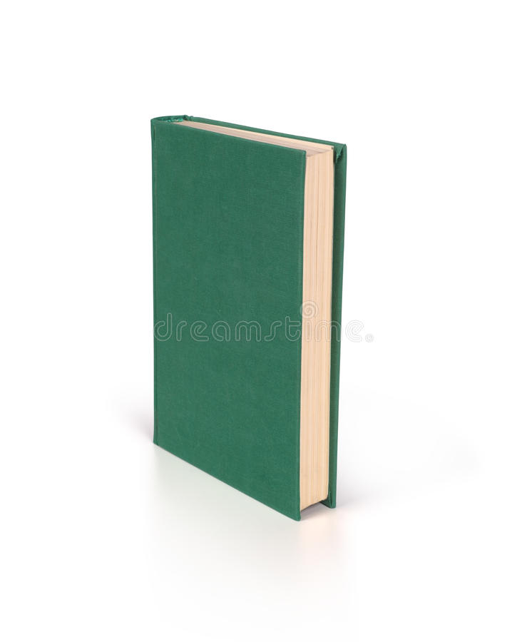 blank bokhardcover royaltyfri bild