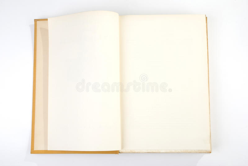 blank bokomslagyellow royaltyfri foto