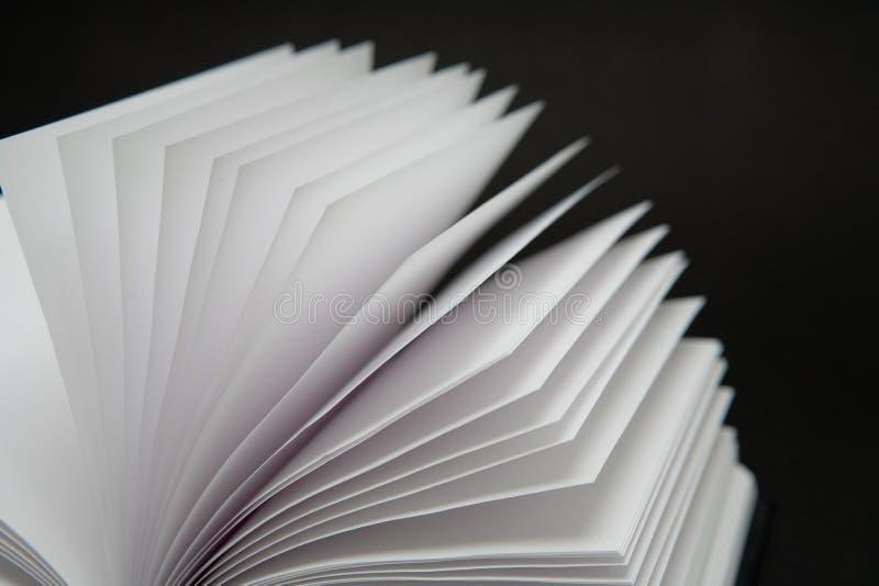 Blank Book stock image
