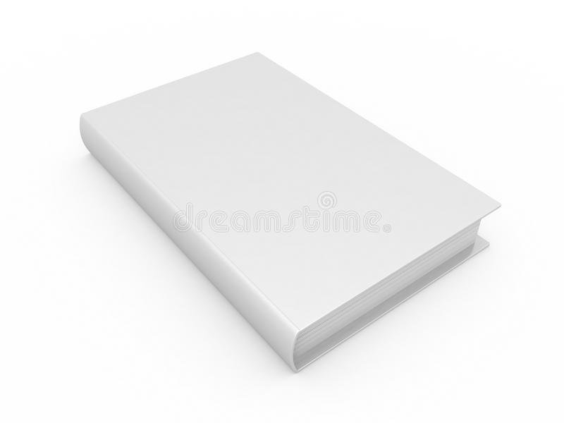 Download Blank book stock illustration. Image of bonding, thick - 17686680