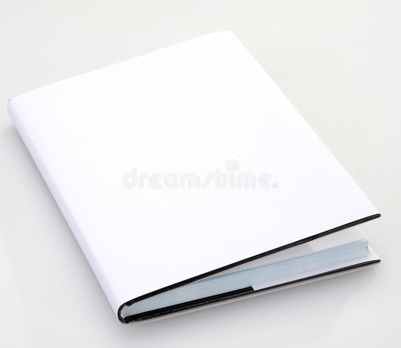 Blank book cover royalty free stock photography