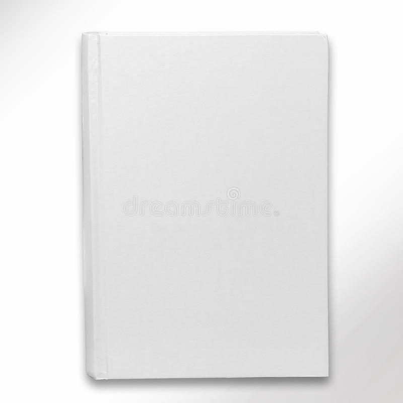 Blank book cover. Red and black book cover blank for your copy, clipping path royalty free stock photo
