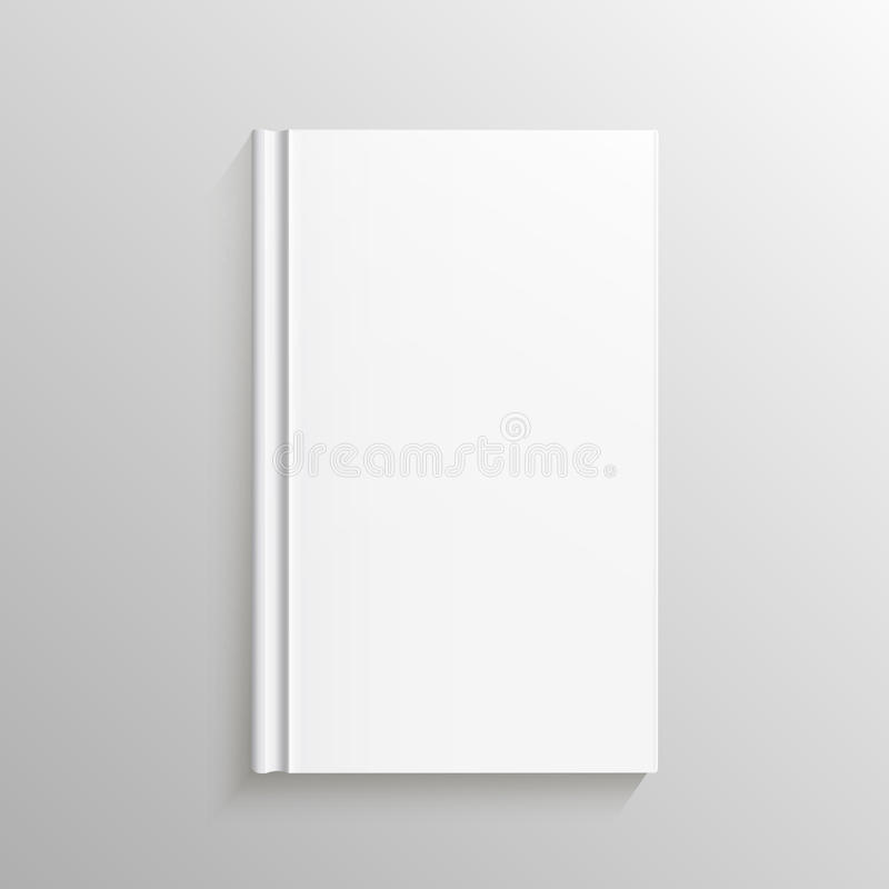 Blank Book Cover Vector Illustration Free : Blank book cover gradient mesh isolated object for