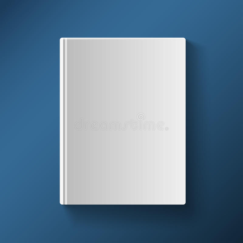 Blank Book Cover Vector Illustration Free ~ Blank book cover vector illustration gradient mesh stock