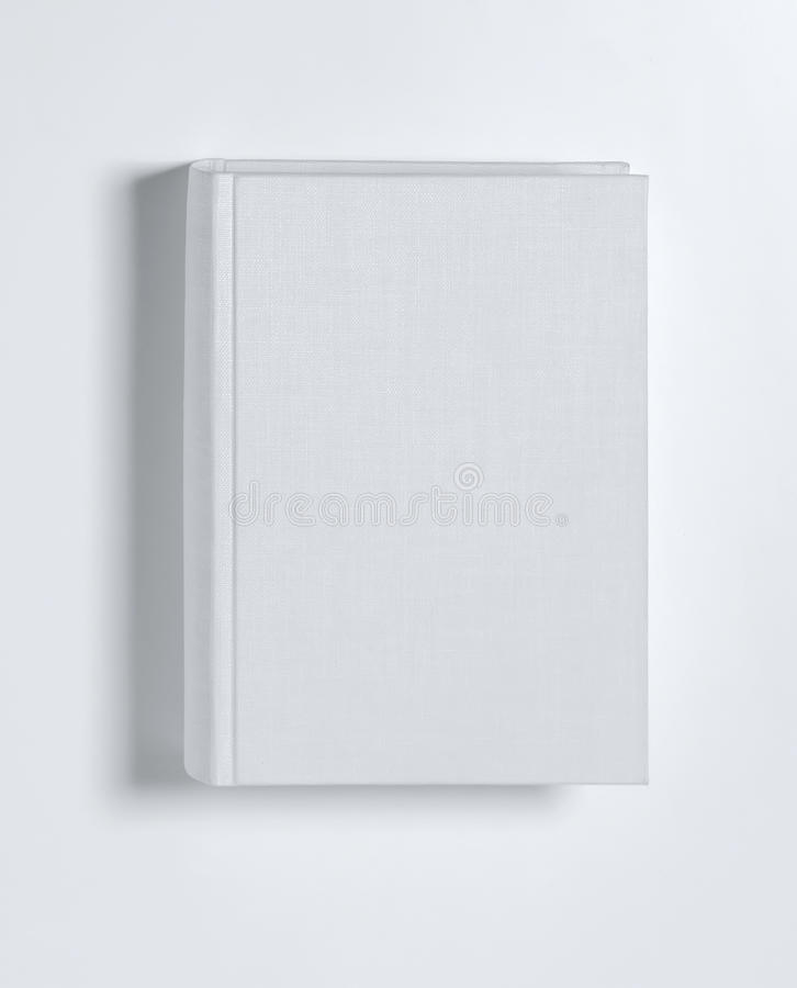 Book Cover Stock Art : Blank book cover white stock images image