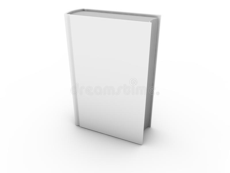 Blank book isolated royalty free illustration