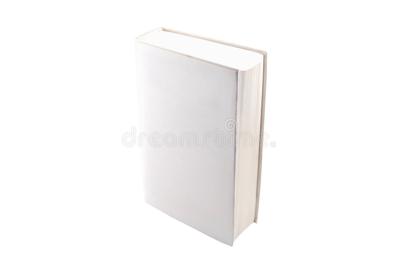 Download Blank Book Isolated On White Background Stock Images - Image: 7554164