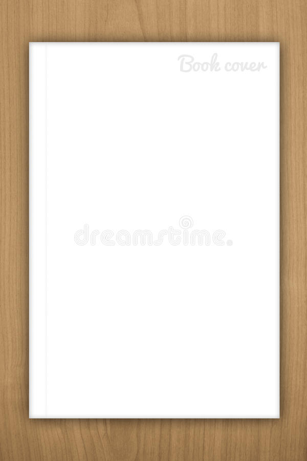 Blank book or magazine cover royalty free stock photos