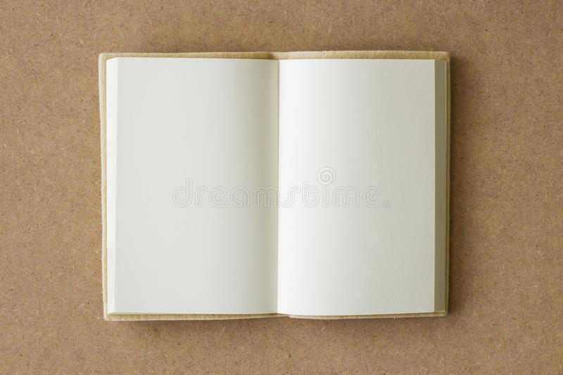 open book with blank pages royalty free stock photo