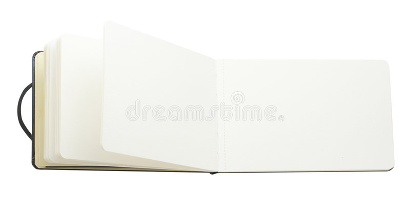Blank Book Pages stock images