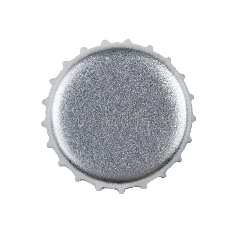 Download Blank Bottle Cap With Clipping Path Stock Photo - Image: 25661736