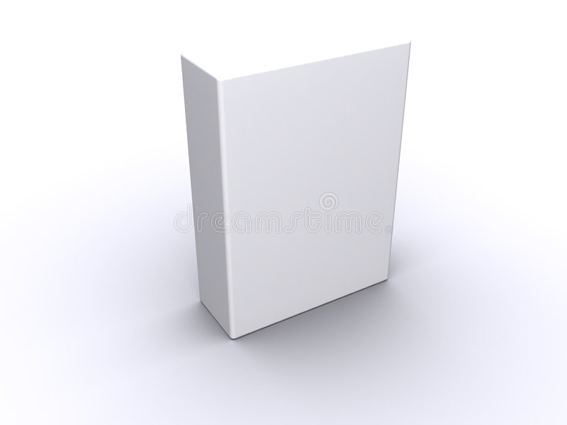 Blank Box royalty free illustration