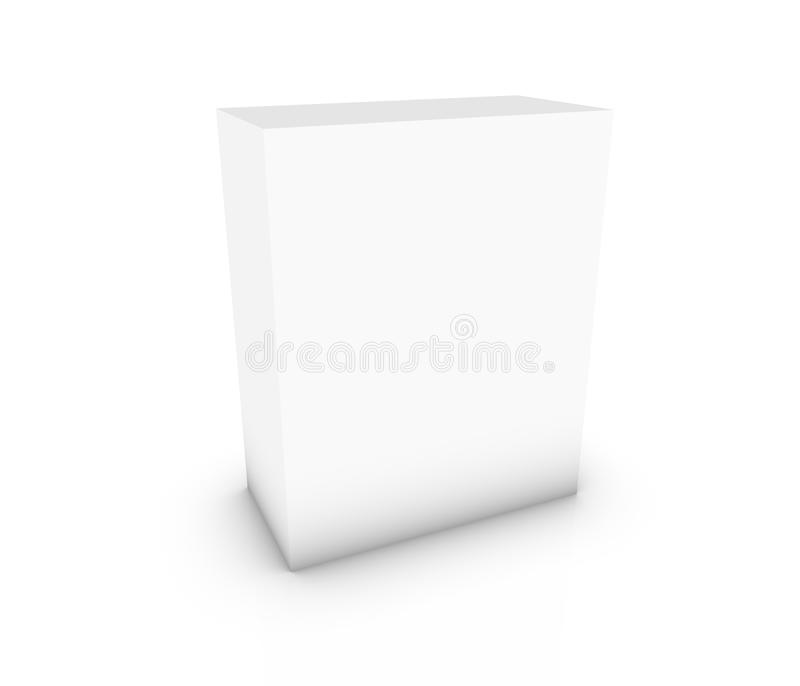 Blank box vector illustration