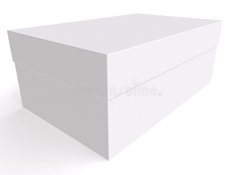 Download Blank box 3d stock illustration. Image of packing, application - 6333129