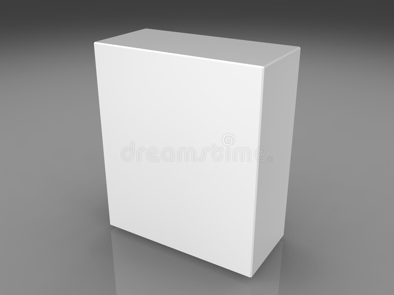 Blank box royalty free stock images
