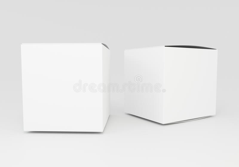 Blank Box Stock Illustration