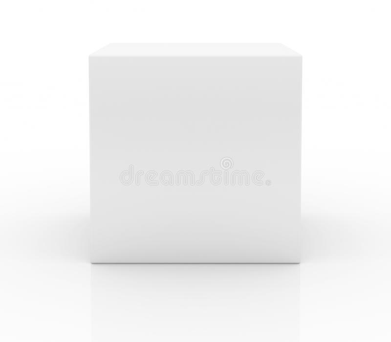 Blank boxas vektor illustrationer