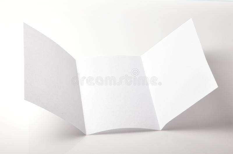 Download Blank brochure stock image. Image of page, isolated, concept - 12739817