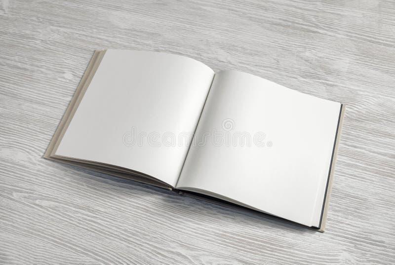 Blank brochure mock up stock image