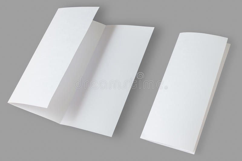 blank broschyren stock illustrationer