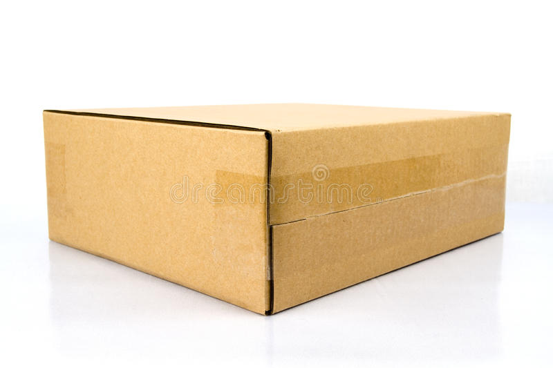 Download Blank brown box. stock image. Image of package, pack - 20012745