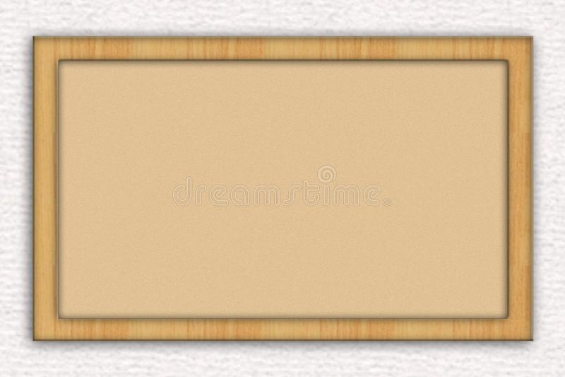 Blank Bulletin Board stock images